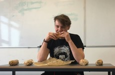 This Irish student attempted to eat five chicken fillet rolls in under one hour