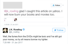 JK Rowling's running Twitter battle with Trump supporters has produced some gems