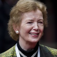 'Trump is a bully. And we have to stand up to bullies' - Mary Robinson