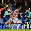 Seamus Coleman helps Everton earn a point at Stoke