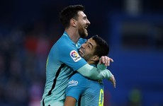Wonder goals from Messi and Suarez see Barca past Atletico