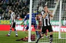 Unfortunate last-minute Ciaran Clark own goal keeps Newcastle off top
