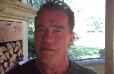 Donald Trump went to a prayer meeting and used it to attack Arnold Schwarzenegger's ratings