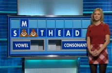 The word 'sh*thead' came up on Countdown and they blocked it out with the poo emoji