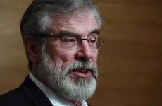 Does Gerry Adams regret getting involved with the Stack meeting? Yes and no