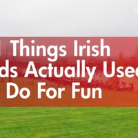11 things Irish kids actually used to do for fun