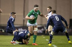Carolan's U20s make it two wins from two for Ireland in Scotland