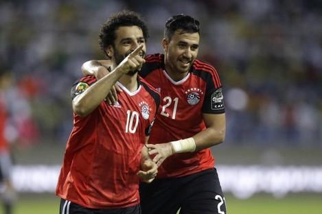 Mohamed Salah (left) has been one of Egypt's stars.