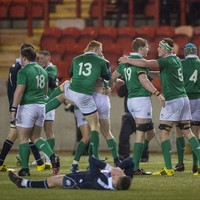 'There's guys there who'll be playing international rugby in a few years'