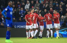 As it happened: Leicester City v Manchester United, Premier League