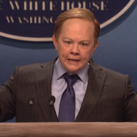 White House press secretary Sean Spicer is the latest person to get the SNL treatment