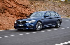 The new BMW 5 Series Touring is more practical, high-tech and efficient than ever