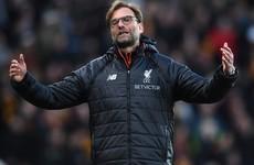 Klopp takes responsibility for Liverpool slump