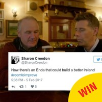 The whole country wants Enda from Room To Improve to run for Taoiseach