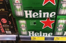 12 cans of Heineken for €20? This is how minimum pricing could affect your pocket