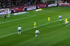 Man United's on-loan forward hits fabulous volley in La Liga