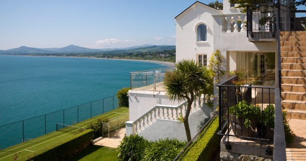 See inside the home that overlooks Killiney Bay and has its own gym and tennis court