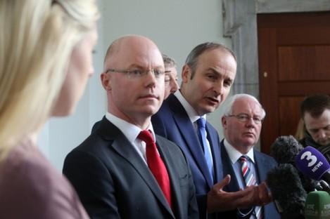 Stephen Donnelly joins Fianna Fail.