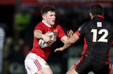 Calvin Nash starts for Ireland U20s on the back of senior Munster debut