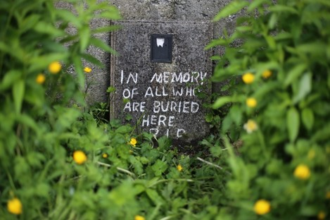 The site of the mass grave in Tuam.