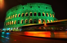 Tourism Ireland says turning landmarks green for Paddy's Day is worth €10m in free publicity