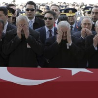 Putin apologises after Russian air strike accidentally kills three Turkish soldiers