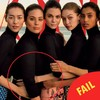 It looks like Vogue made a hames of the Photoshop on its new front cover