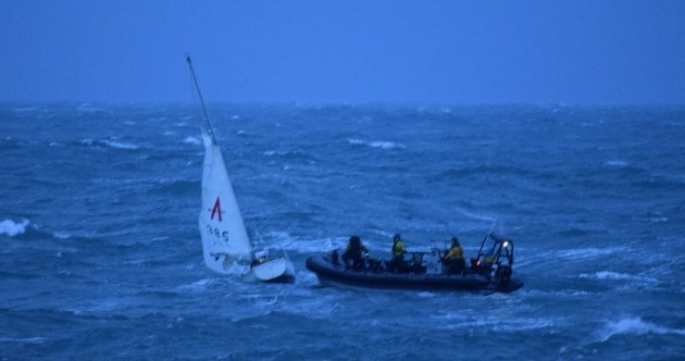 Man rescued from sinking yacht off Co Cork coast