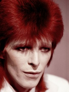 Glam rock legend Bowie celebrates turning 65