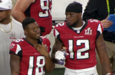 'They got Tom Brady though' - Even at 21-0 up, one Atlanta player was still nervous