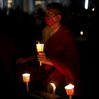 Two former Tibetan monks set themselves on fire