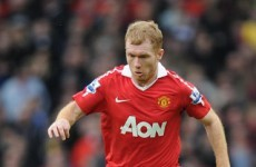 Poll: Is Fergie right to bring Scholes back?