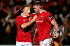 Taute and Bleyendaal star as Munster run riot in Cork to maintain Pro12 lead