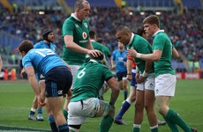 Player ratings: How Ireland performed in the 9-try rout in Rome