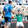 Schmidt praises debutant Scannell after Ireland build big win from solid start
