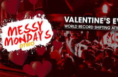 A Dublin club is attempting to break a 'world shifting record' on Valentine's day
