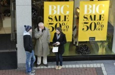 Euro jitters and Budget 2012 dull consumers' moods