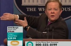 Sean Spicer gets his second skewering in two weeks courtesy of SNL's Melissa McCarthy