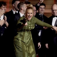 Adele on her Grammy wins: 'My idol is Queen Bey and I adore you'