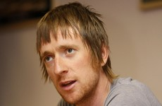 Bradley Wiggins breaks leg on TV show