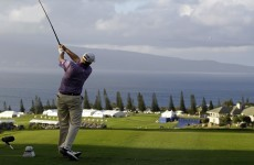 Stricker on cruise control in Hawaii