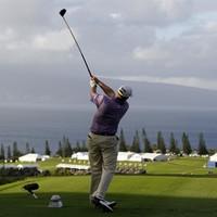 Stricker on cruise control in Hawaii