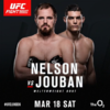 Gunni Nelson set for UFC London co-main event on St Patrick's weekend