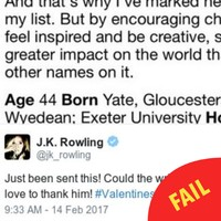 JK Rowling expertly trolled Piers Morgan... by sharing a lovely article he wrote about her in 2010