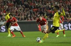 Advantage Benfica as hosts sneak win after Aubameyang fluffs Dortmund's lines