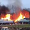 Several injured after explosion and major blaze at Oxford flats