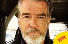 Pierce Brosnan's Instagram is place of joy and wonder and adorable posts about his wife