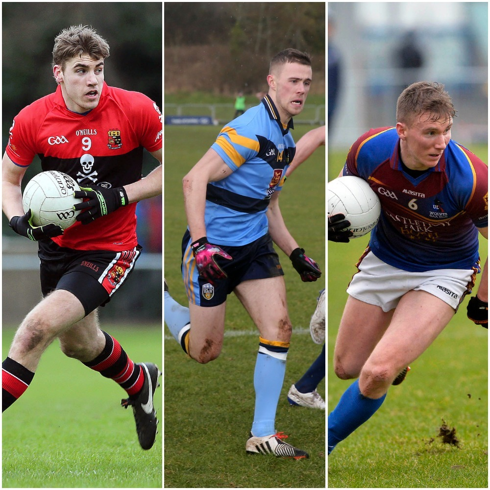 Ian Maguire, Paul Mannion and Denis Daly are some of the players in action today.