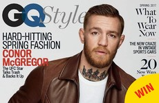 Conor McGregor is looking extremely well on the cover of this month's GQ