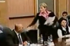 WATCH: Angry Israeli MP throws water over an opponent